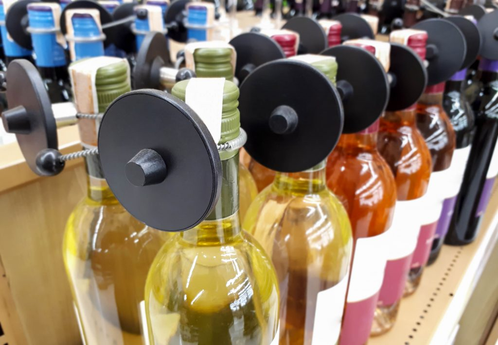 tag rfid anticontrefaçon bouteilles