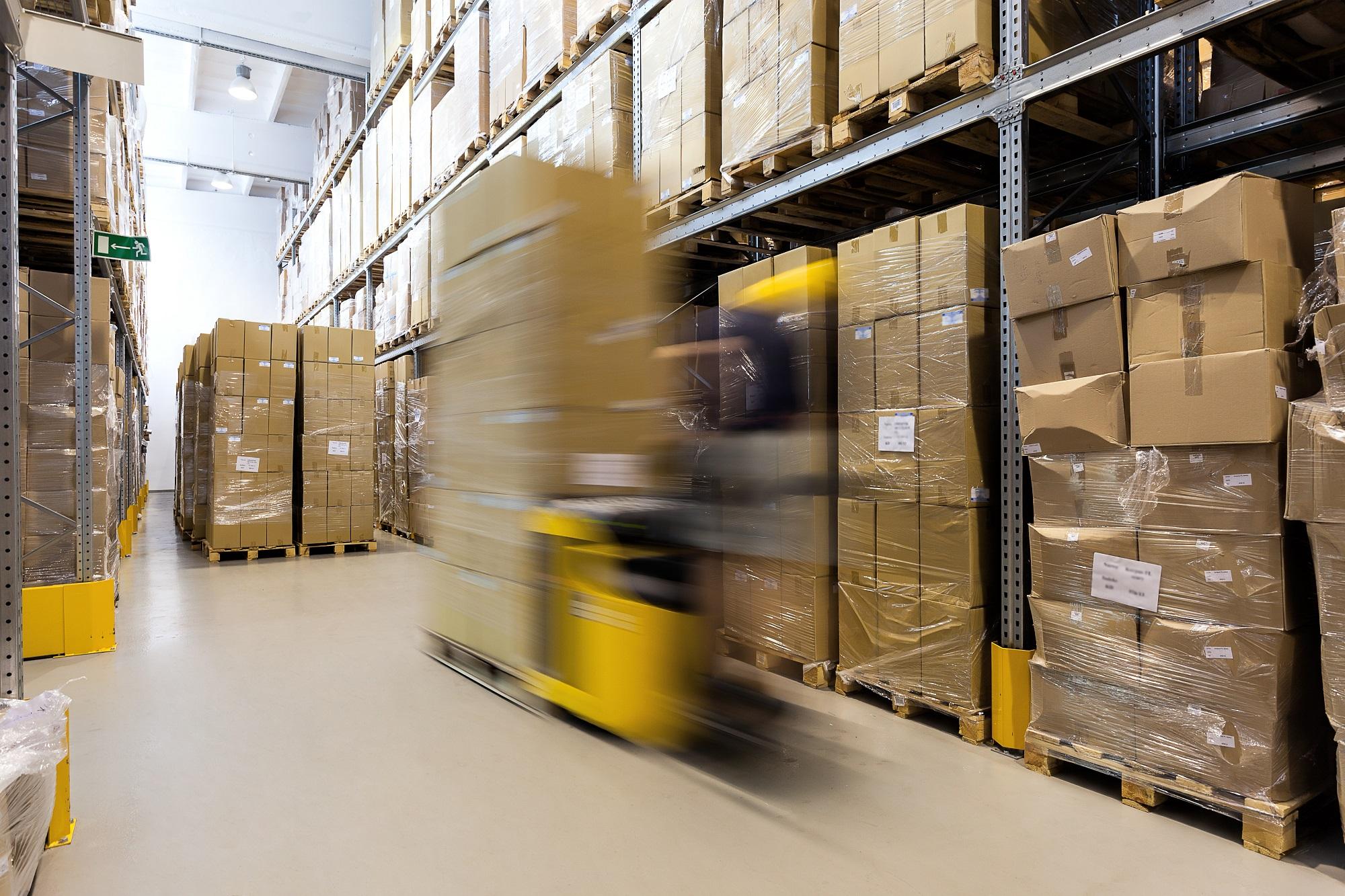Traçabilité des palettes en logistique