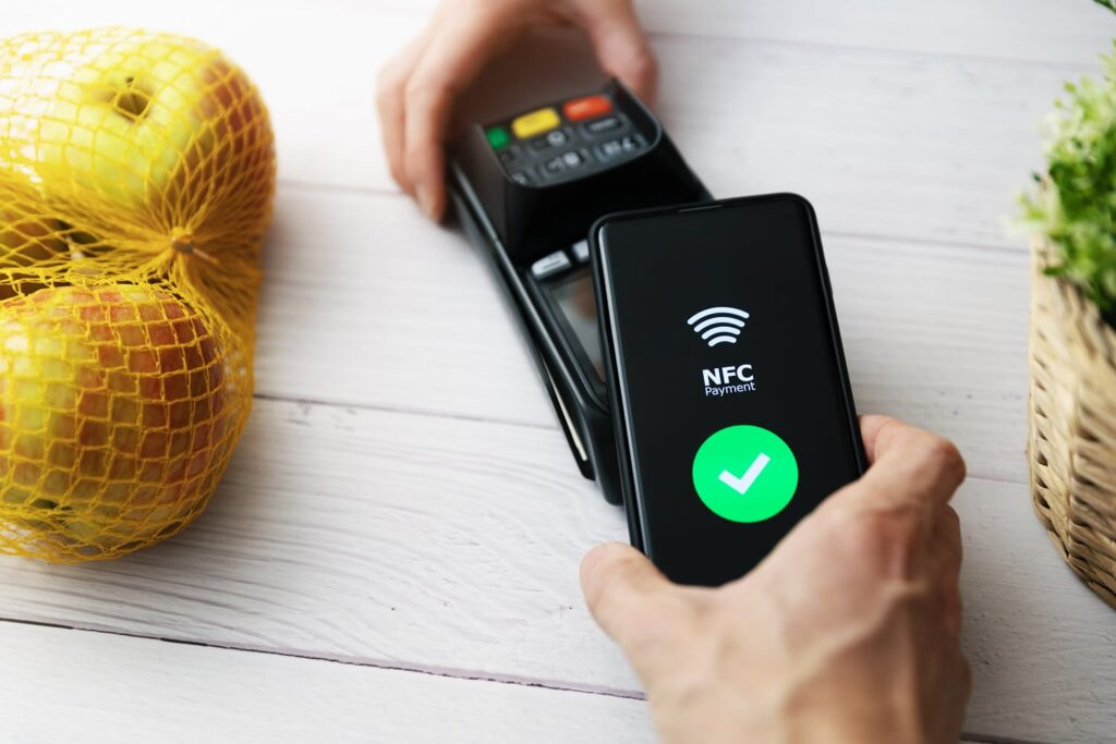 technologie nfc terminal mobile
